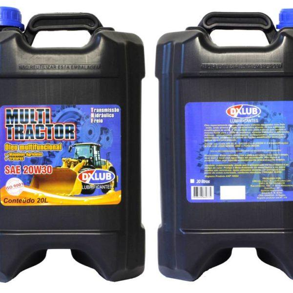 Lubrificante DXLUB Multi Tractor 20w30 API GL-4 Balde 20 Litros